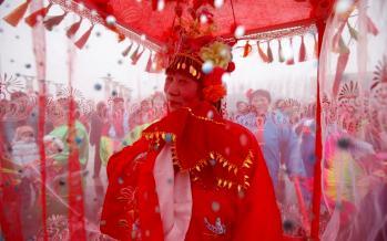 تصاویر فستیوال فانوس تایوان,عکس های فستیوال در تایوان,تصاویر دیدنی از جشن در تایوان
