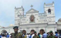تصاویر انفجار در سریلانکا,عکس های انفجار در سریلانکا,تصاویر پایتخت سریلانکا