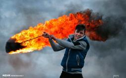 تصاویر رسم آتش زدن لاستیک در رومانی,عکس های آتش زدن لاستیک در رومانی,تصاویری از آتش زدن لاستیک ها در ترانسیلوانیا رومانی