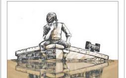کاریکاتور سیلاب,کاریکاتور,عکس کاریکاتور,کاریکاتور اجتماعی