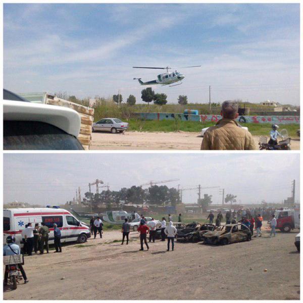 تصادف در اتوبان تهران - ساوه,اخبار حوادث,خبرهای حوادث,حوادث