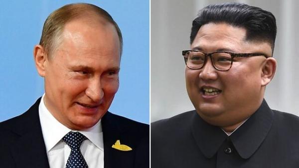 کیم جونگ اون و ولادیمیر پوتین,اخبار سیاسی,خبرهای سیاسی,اخبار بین الملل