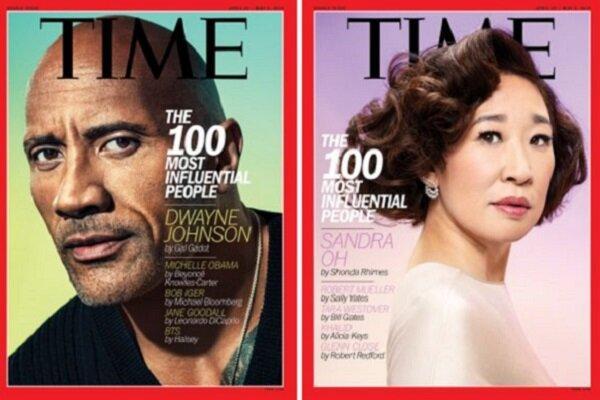 ۱۰۰ چهره تاثیرگذار ۲۰۱۹ مجله تایم معرفی شدند/ هنرمندان فهرست
