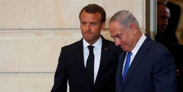 بنیامین نتانیاهو و امانوئل ماکرون,اخبار سیاسی,خبرهای سیاسی,اخبار بین الملل