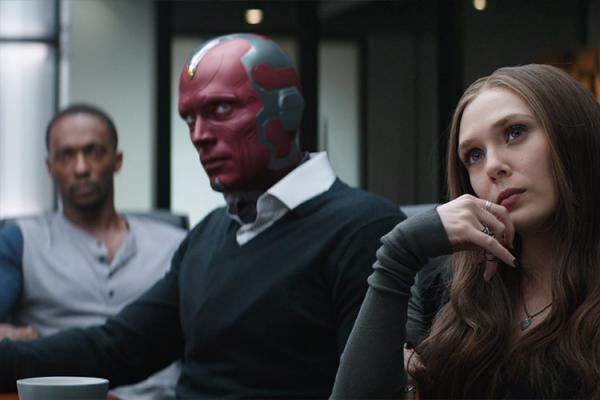 سریال Vision and Scarlet Witch,اخبار فیلم و سینما,خبرهای فیلم و سینما,اخبار سینمای جهان
