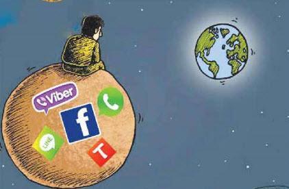 وقت گذرانی جوانان درشبکه های اجتماعی,اخبار اجتماعی,خبرهای اجتماعی,خانواده و جوانان