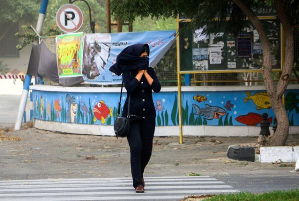 وزش باد در پایتخت,اخبار اجتماعی,خبرهای اجتماعی,وضعیت ترافیک و آب و هوا
