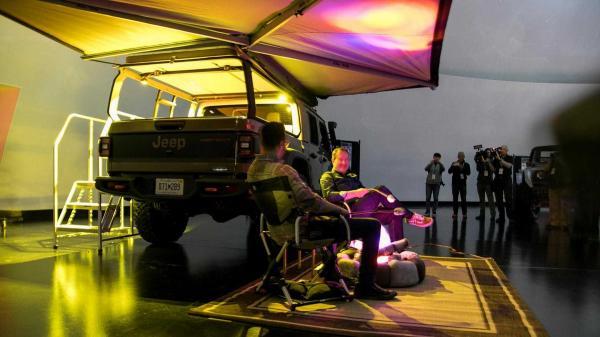 مدل جیپ گلادیاتور ۲۰۱۹,اخبار خودرو,خبرهای خودرو,مقایسه خودرو
