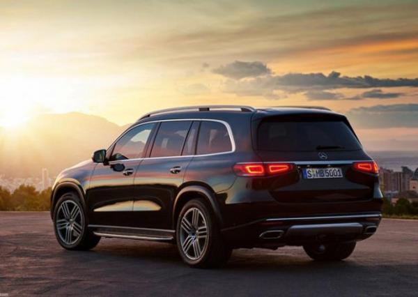 مرسدس بنز GLS 2020,اخبار خودرو,خبرهای خودرو,مقایسه خودرو