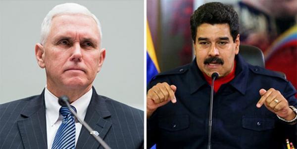 رئیسجمهور ونزوئلا: پنس خودش را مضحکه کرده است