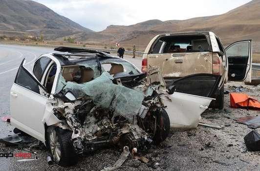 تصادف جاده ای,اخبار حوادث,خبرهای حوادث,حوادث