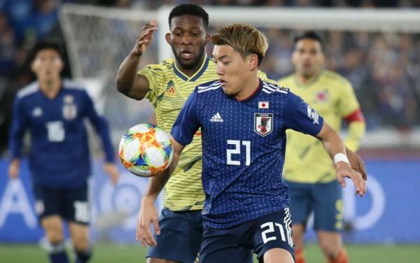 دیدار تیم ملی ژاپن و کلمبیا,اخبار فوتبال,خبرهای فوتبال,اخبار فوتبال جهان