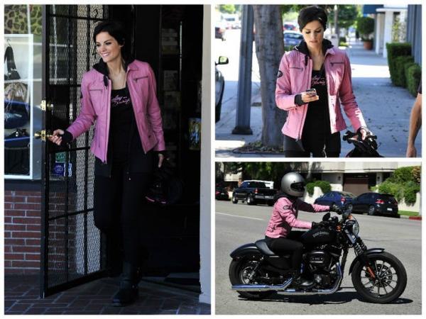 سلبریتیهای زن عاشق موتورسیکلت,اخبار هنرمندان,خبرهای هنرمندان,اخبار بازیگران