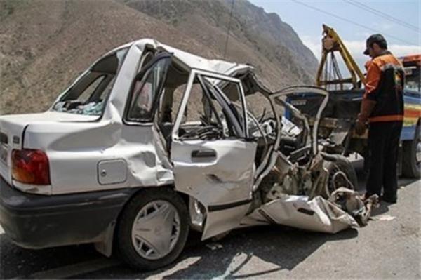 تصادف در جاده ریگان - نرماشیر,اخبار حوادث,خبرهای حوادث,حوادث