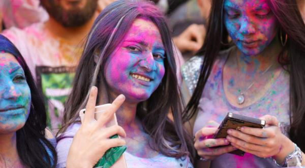 فستیوال رنگها در اربیل,اخبار جالب,خبرهای جالب,خواندنی ها و دیدنی ها