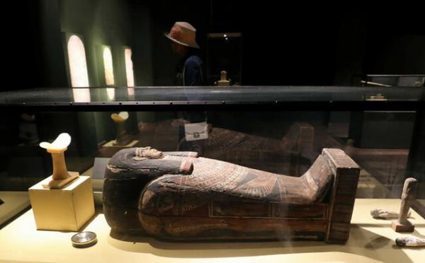 مومیایی چندین هزارساله مصری,اخبار فرهنگی,خبرهای فرهنگی,میراث فرهنگی