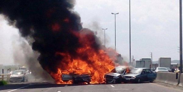 حادثه اتوبان تهران - ساوه,اخبار اجتماعی,خبرهای اجتماعی,حقوقی انتظامی