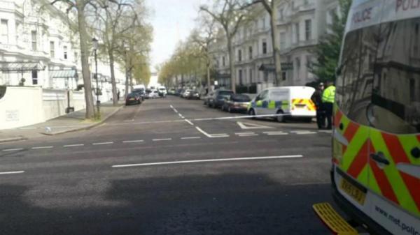 تیراندازی نزدیک سفارت اوکراین در لندن,اخبار سیاسی,خبرهای سیاسی,اخبار بین الملل