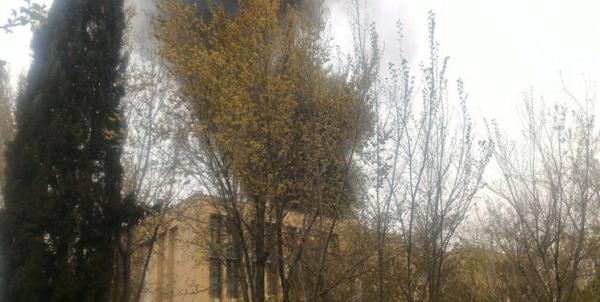 آتشسوزی دانشگاه اصفهان,اخبار حوادث,خبرهای حوادث,حوادث امروز