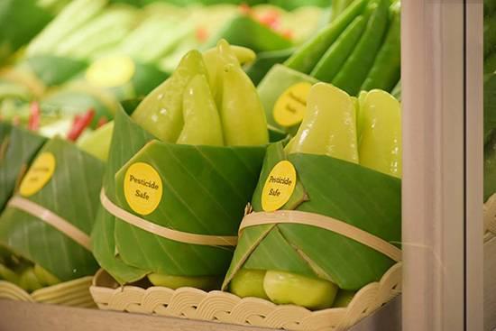 استفاده از برگ در سوپرمارکتهای آسیا,اخبار جالب,خبرهای جالب,خواندنی ها و دیدنی ها