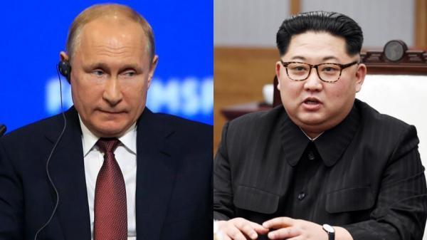 ولادیمیر پوتین و کیم جونگ اون,اخبار سیاسی,خبرهای سیاسی,اخبار بین الملل