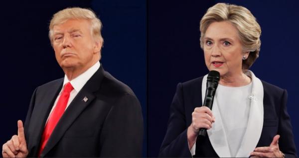دونالد ترامپ و هیلاری کلینتون,اخبار سیاسی,خبرهای سیاسی,اخبار بین الملل