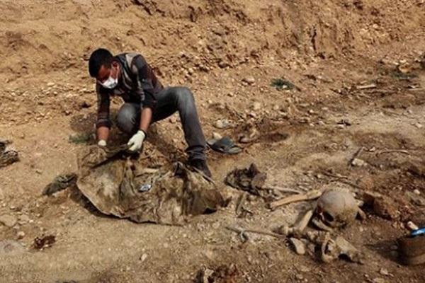 گور جمعی ایزدیها در عراق,اخبار سیاسی,خبرهای سیاسی,خاورمیانه