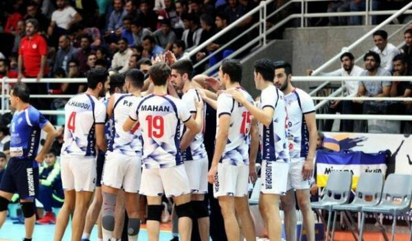 تیم والیبال شهرداری ورامین,اخبار ورزشی,خبرهای ورزشی,والیبال و بسکتبال