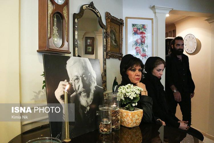 تصاویر هنرمندان در منزل مرحوم جمشید مشایخی,عکس های بازیگران در منزل مرحوم جمشید مشایخی,عکس وزیر ارشاد در منزل مرحوم جمشید مشایخی