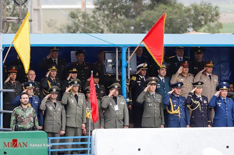 تصاویر رژه روز ارتش،عکس های رژه ارتش در تاریخ 29 فروردین 98،تصاویری از تجهیزات جدید ارتش