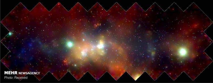 تصاویر سیاه چاله های غول پیکر,عکس های سیاه چاله های فضایی,تصاویری از سیاه چاله فضایی