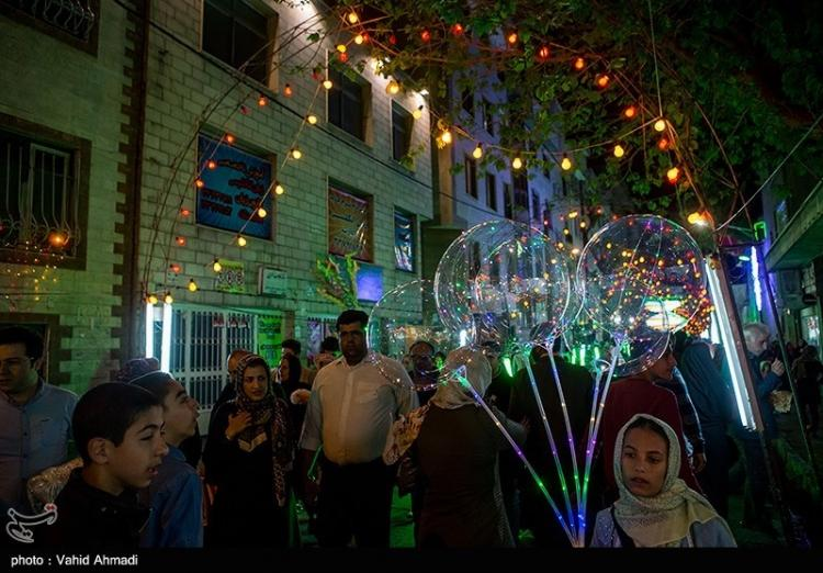 تصاویر جشن نیمه شعبان در تهران, عکس های جشن نیمه شعبان در تهران, تصاویر جشن نیمه شعبان