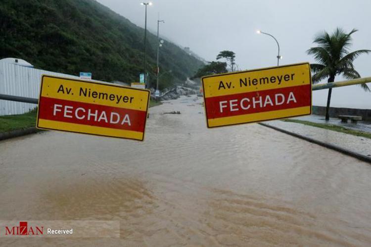 تصاویر سیل در برزیل,تصاویر رانش زمین در برزیل,عکس های سیل و رانش زمین در برزیل