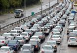 ترافیک سنگین در پایانه شهید کلانتری,اخبار اجتماعی,خبرهای اجتماعی,وضعیت ترافیک و آب و هوا