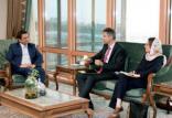 دیدار همتی با سفیر سوئیس,اخبار اقتصادی,خبرهای اقتصادی,بانک و بیمه