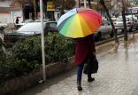 سامانه بارشی در ایران,اخبار اجتماعی,خبرهای اجتماعی,وضعیت ترافیک و آب و هوا