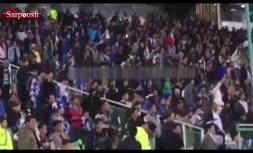 فیلم/ شعار هواداران استقلال علیه رحمتی و اعتراض به بازیکنان