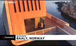 ویدئو/ گشایش نخستین رستوران زیردریایی در اروپا
