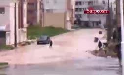 فیلم/ سیلاب شدید در خرم آباد