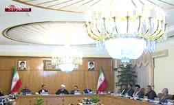 ویدئو/ حسن روحانی: تشت آمریکا از بام افتاد