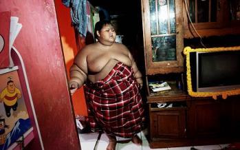 تصاویر چاقترین کودک جهان,عکس های دیدنی,تصاویر جالب