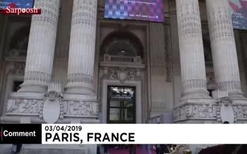 فیلم/ گشتی در نمایشگاه هنر پاریس ۲۰۱۹
