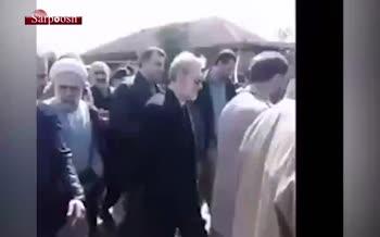 ویدئو/ پاسخ علی لاریجانی رئیس مجلس به پیرزن سیلزده