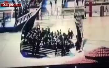 فیلم/ لحظه واژگونی قایق در دجله