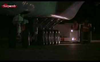 ویدئو/ پرواز بزرگترین هواپیمای جهان برای اولین بار