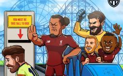 کاریکاتور شکست بارسلونا مقابل لیورپول,کاریکاتور,عکس کاریکاتور,کاریکاتور ورزشی