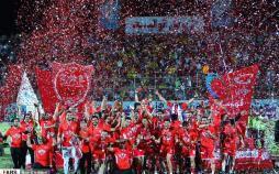 تصاویر جشن قهرمانی پرسپولیس,عکس های دیدار پرسپولیس و پارس جنوبی,عکس های اهدای جام لیگ هجدهم به تیم پرسپولیس