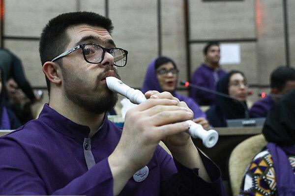 برگزاری ارکستر ویژه ایران با همراهی هنرمندان کودک و نوجوان کمتوان ذهنی و مبتلا به اوتیسم
