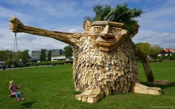 غولهای چوبی,اخبار فرهنگی,خبرهای فرهنگی,میراث فرهنگی
