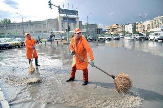 تجمع آب در معابرمشهد,اخبار اجتماعی,خبرهای اجتماعی,شهر و روستا
